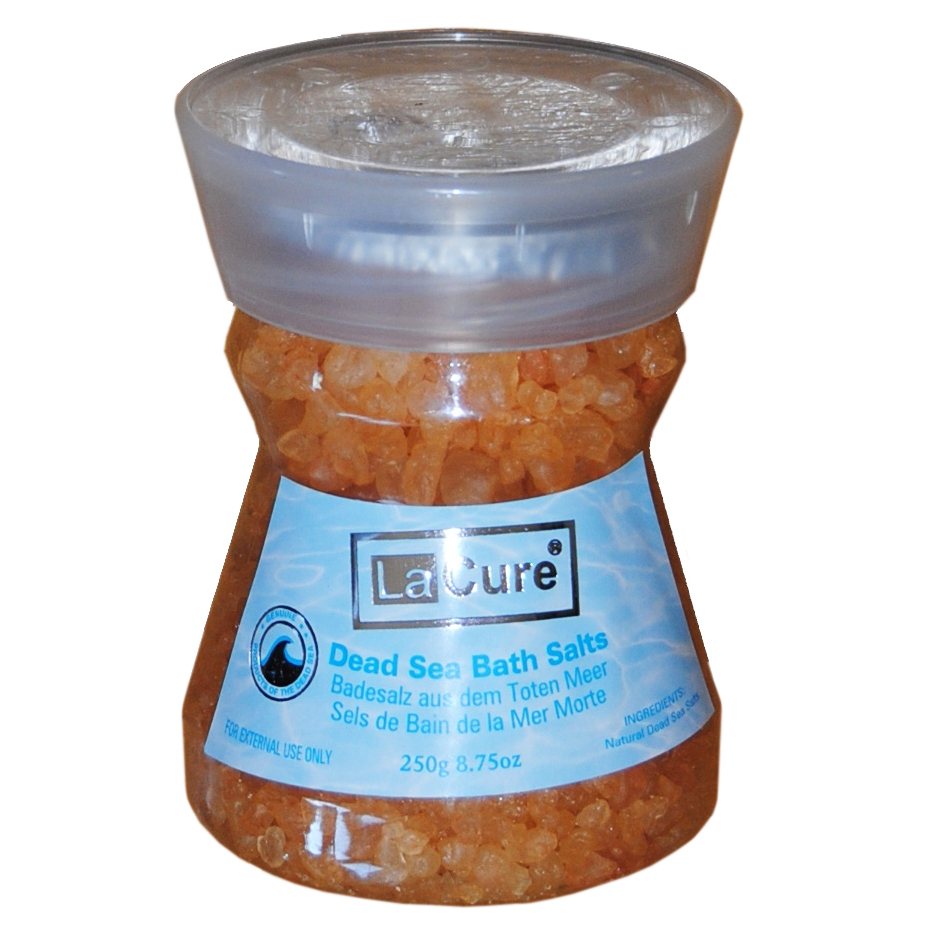 Dead Sea Bath Salt, Peach, La Cure, 250 gm